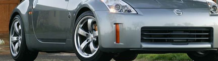 nissan 350z wheel sizes and information